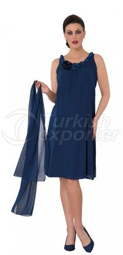 Knitting Collar Maternity Dress