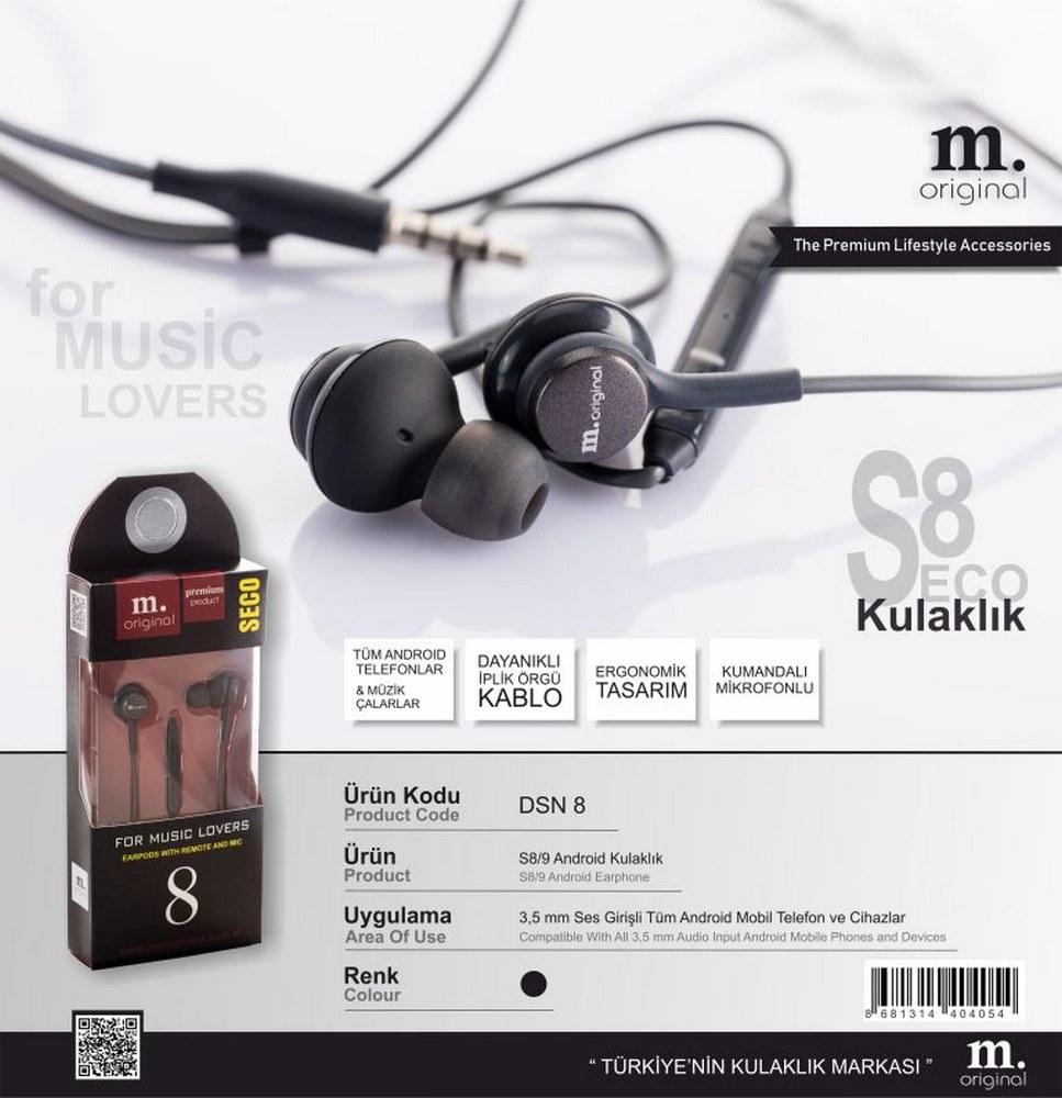 Dsn 8 Seco Headphone