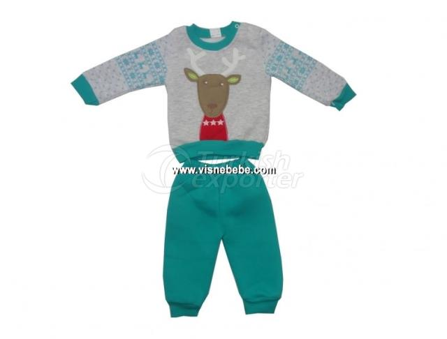 2 Pcs Deer Set
