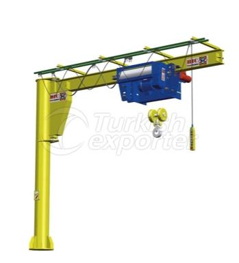 Pillar Sewing Jib Crane 270°