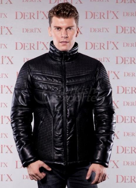 Leather Jackets 02 E Black