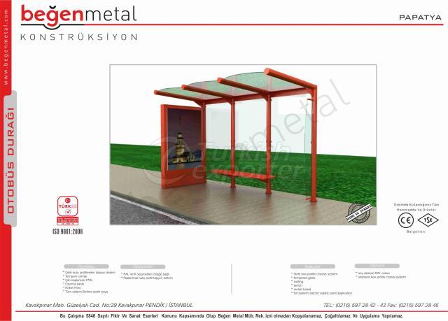 Bus stop shelter - Papatya