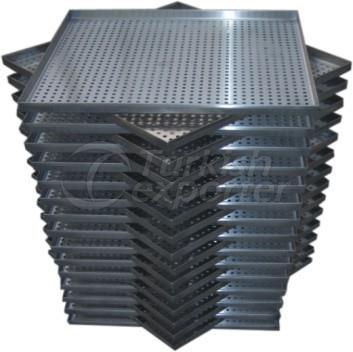 Perforated Plain Backgammon Tray