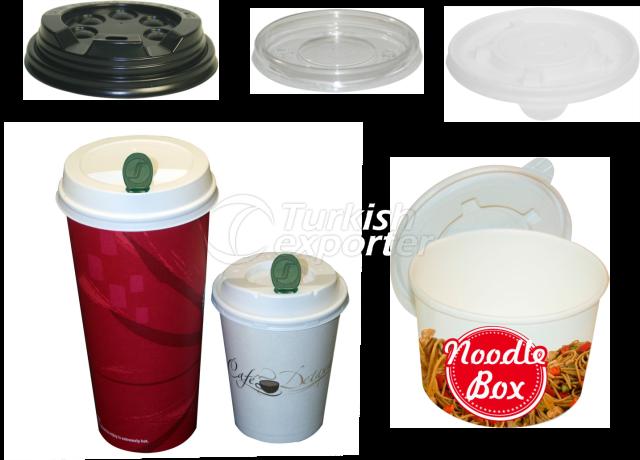 PAPER CUP LIDS- PAPER BOWL LIDS