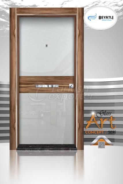 Steel Door - GLH 104