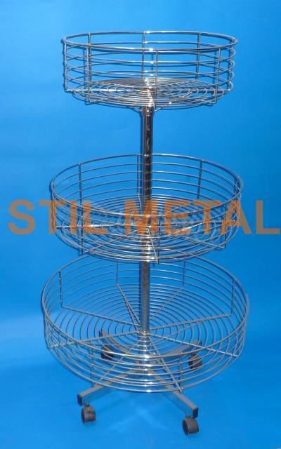 Triple Revolving Wire Rack