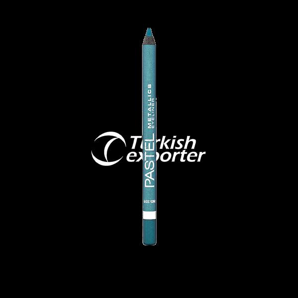 Lápis de olho duradouro impermeável metálico