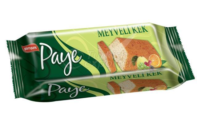 Paye Cake with Fruit