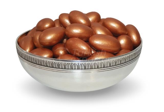 Gragea De Almendras De Chocolate Bronce 1303