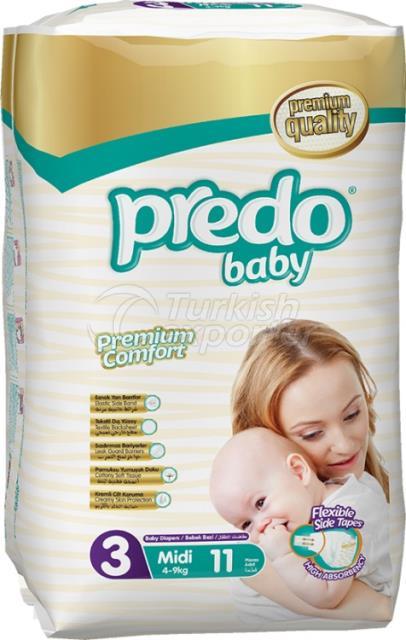 Baby Diapers Predo Standard Midi