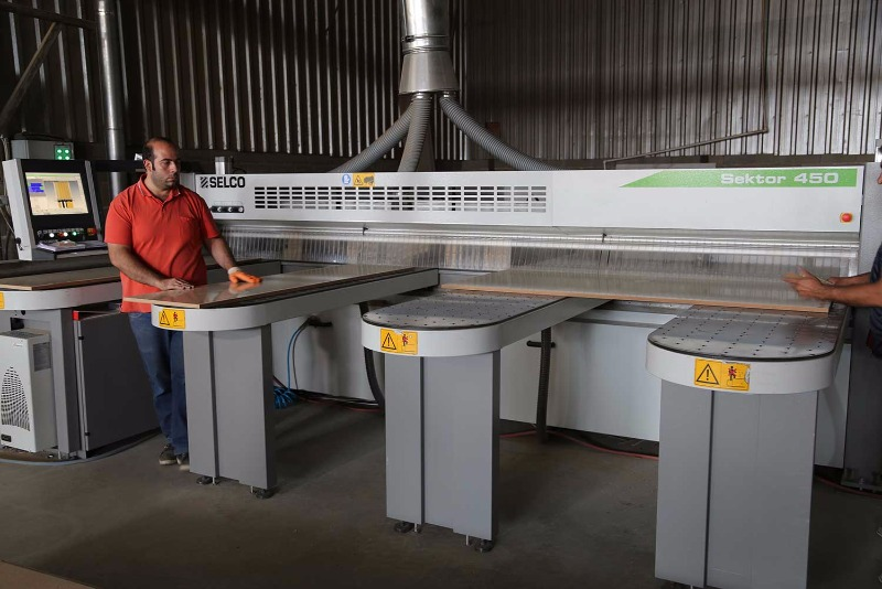 SIZING - BANDING - CNC ROUTER