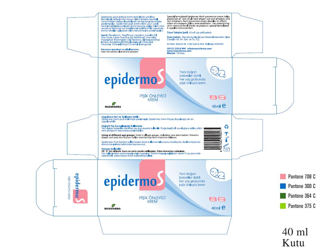 Epidermos Rash Preventive Cream