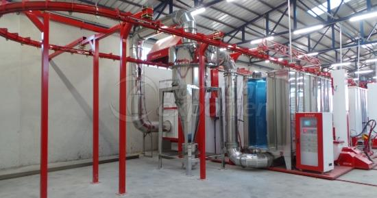 Stainless Steel Mono Cyclones Booth