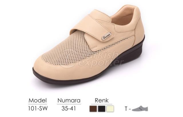 Diabetic-Orthopedic Women Shoes 101SW