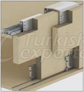 Adjustable Sliding Wardrobe System M02 8320 SFT