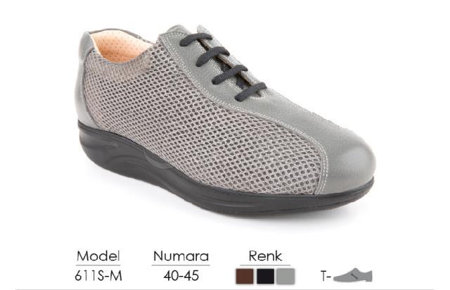 Diabetic-Orthopedic Man Shoes 611S-M