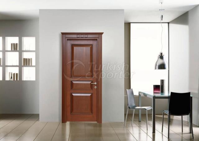Portas sólidas (de madeira)