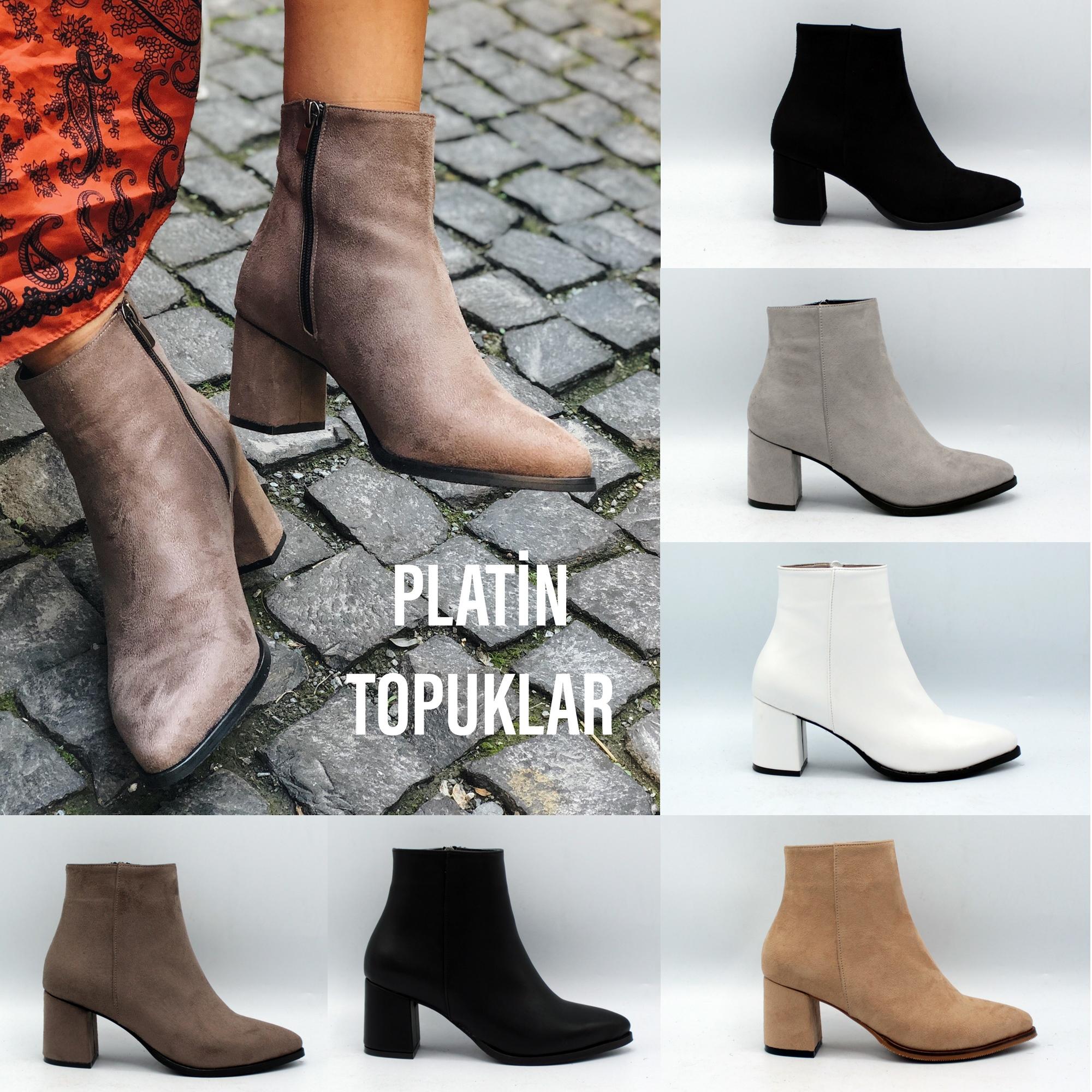 High Heel Women Stylish Boots Trend Footwear