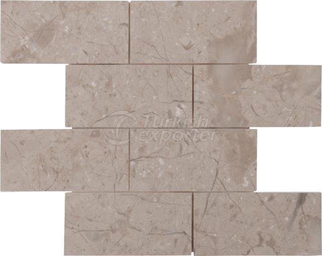 7,5x15 Berkshire Brick Mosaic