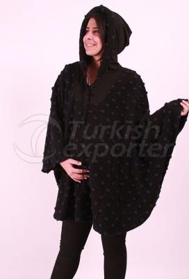 Maternity Clothes Wool Hooded Poncho