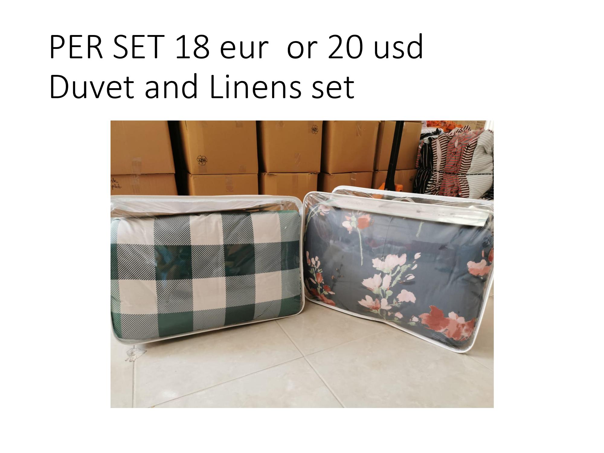 Duvet and Linen Sets
