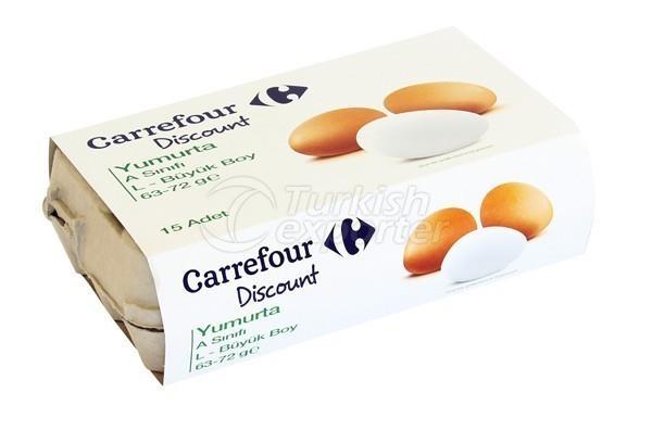 15 Carrefour Discount Eggs L