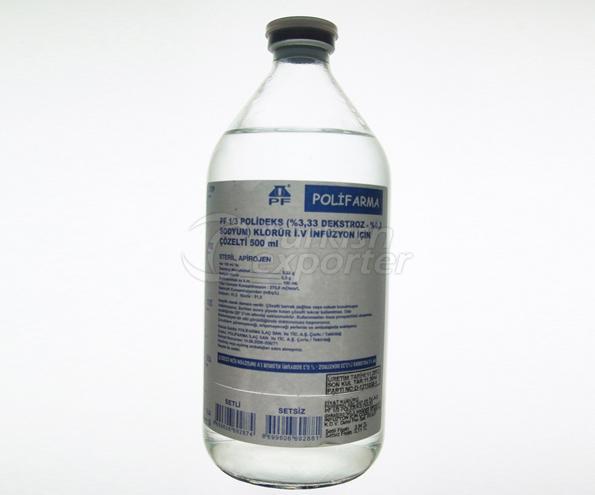 PF 1/3 Polideks İ.V. Çöz. 500 ml