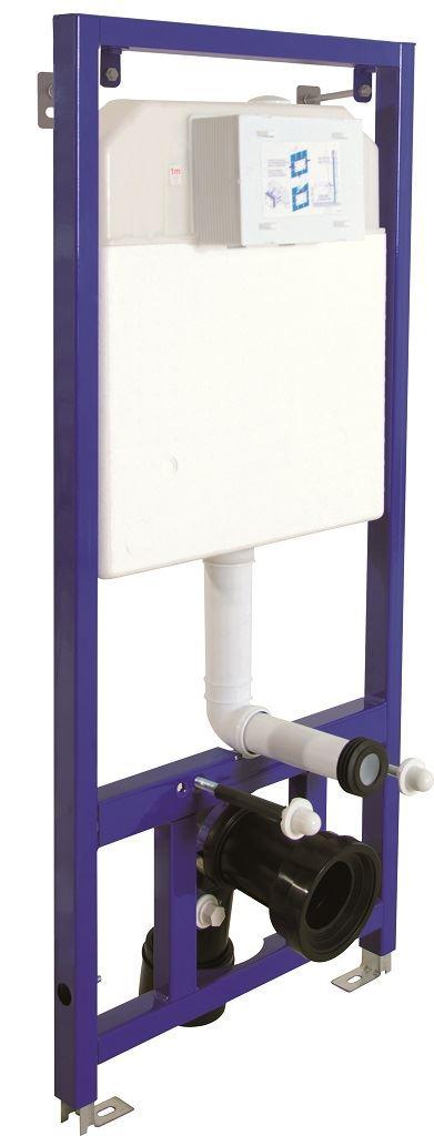 Slim 80 dual flush concealed cistern for drywall