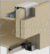 Adjustable Sliding Wardrobe System M02 8235 SFT