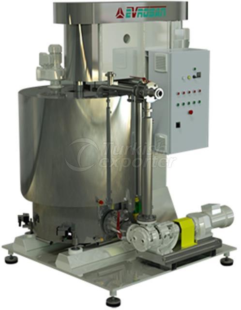 Cream Choccolate Preparation Machines