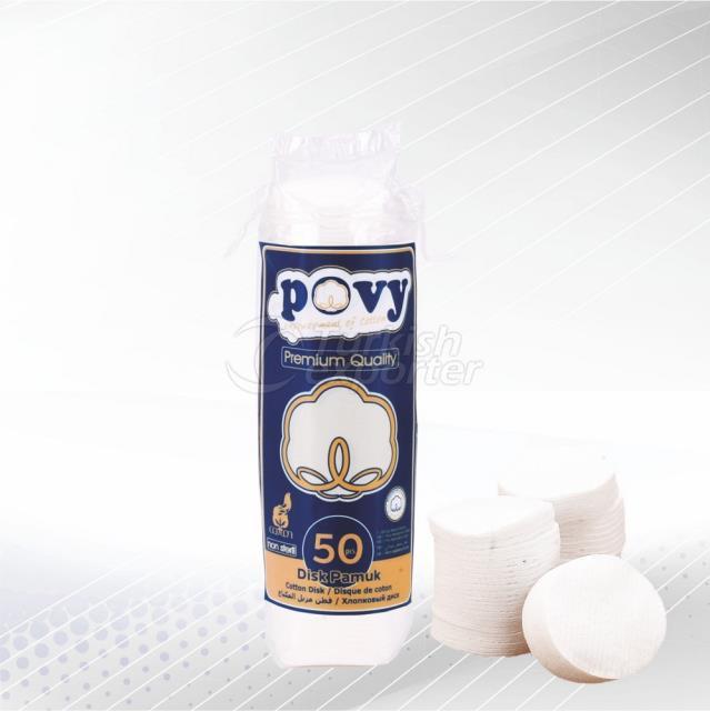 Cotton Disk 50 pcs