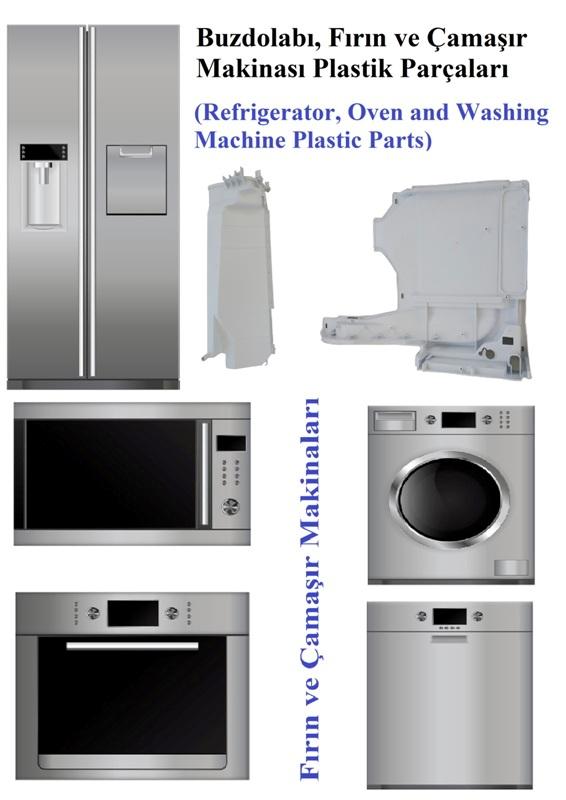 White Good Plastic Parts