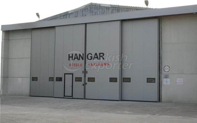 Telescopic Hangar Doors