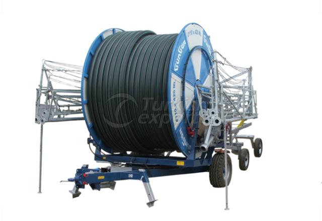 Automatic Irrigation Winged Drum Machine