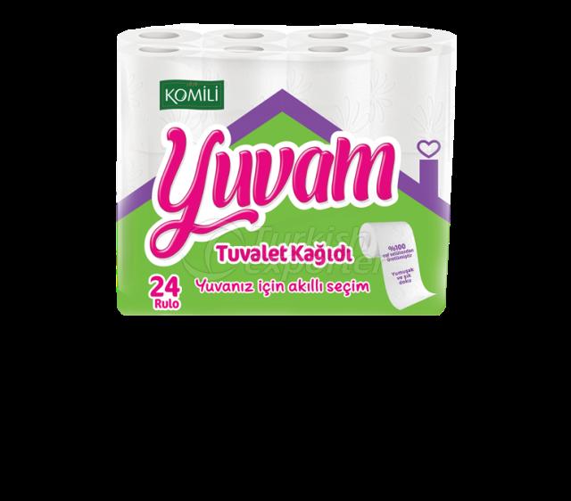 Papel higiénico Yuvam 24 rollos