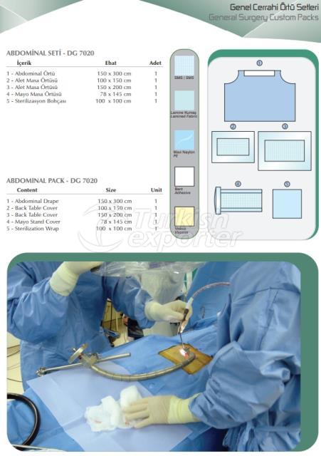 General Surgery Custom Packs