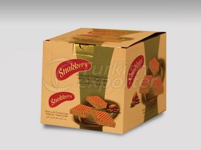 Snakkers Wafers With Pistachio