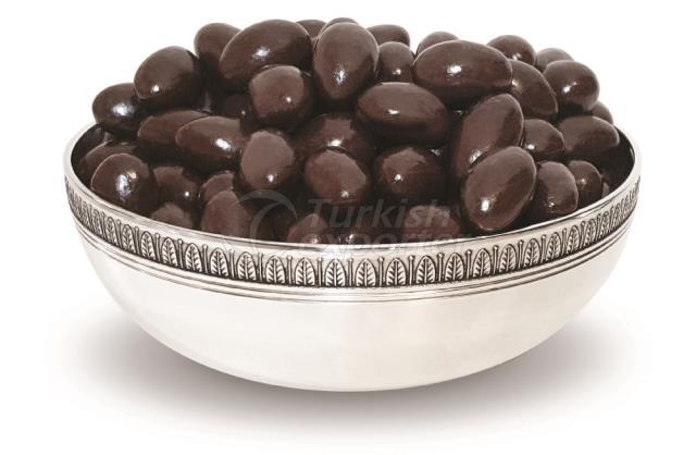 Drague au chocolat amer et aux dragées 1186