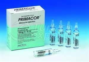 PRIMACOR 10 MG 10 AMPOULS
