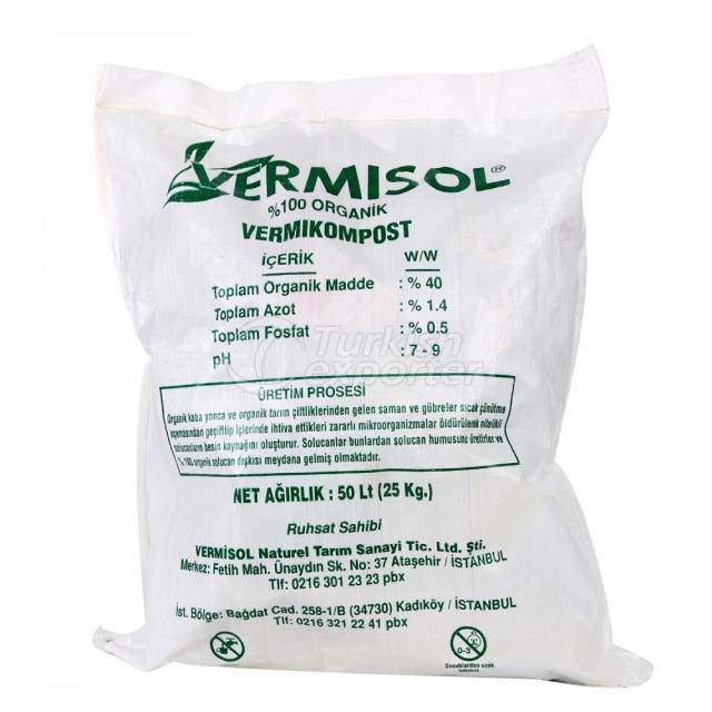 Solid Worm Fertilizer