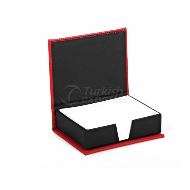 PU Leather Note Holder