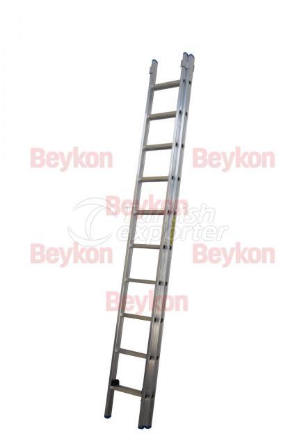 Escalera corredera industrial 4m