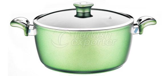 Mirror Green Cookware