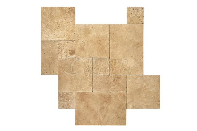 Toscana Tumbled French Pattern Marble