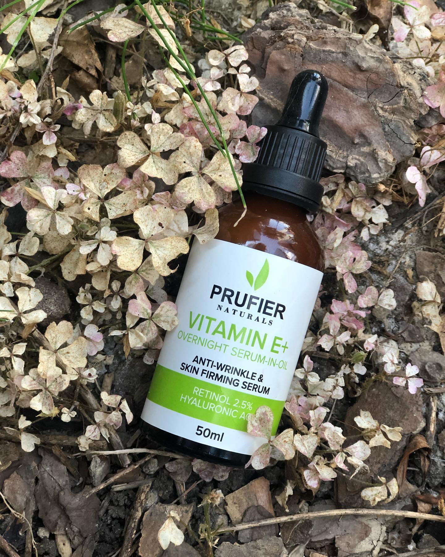 Prufier Naturals Anti-Wrinkle Skin Firming Serum