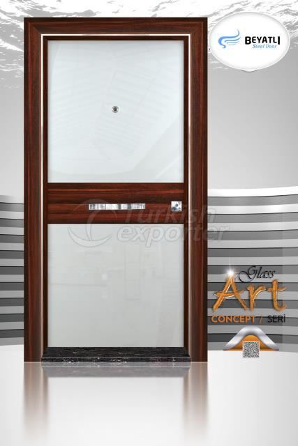 Steel Door - GLH 102