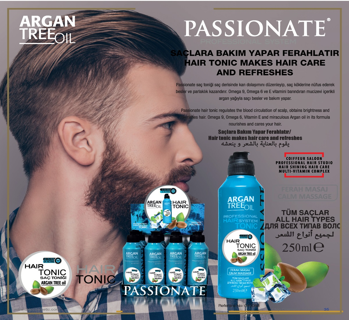 Passionate Professional System Hair Tonic