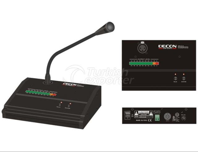 Microphone Console 1-Zone Announcement DP-319