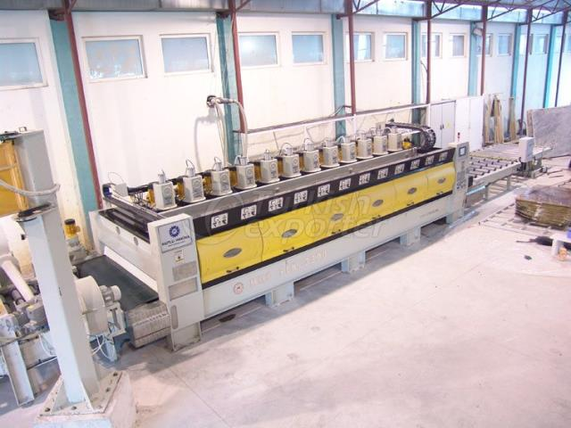 Máquina de polir de laje