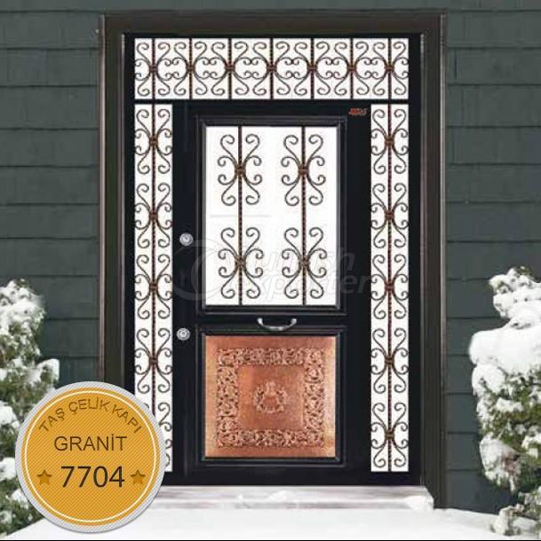 Çelik Kapı - Granit 7704